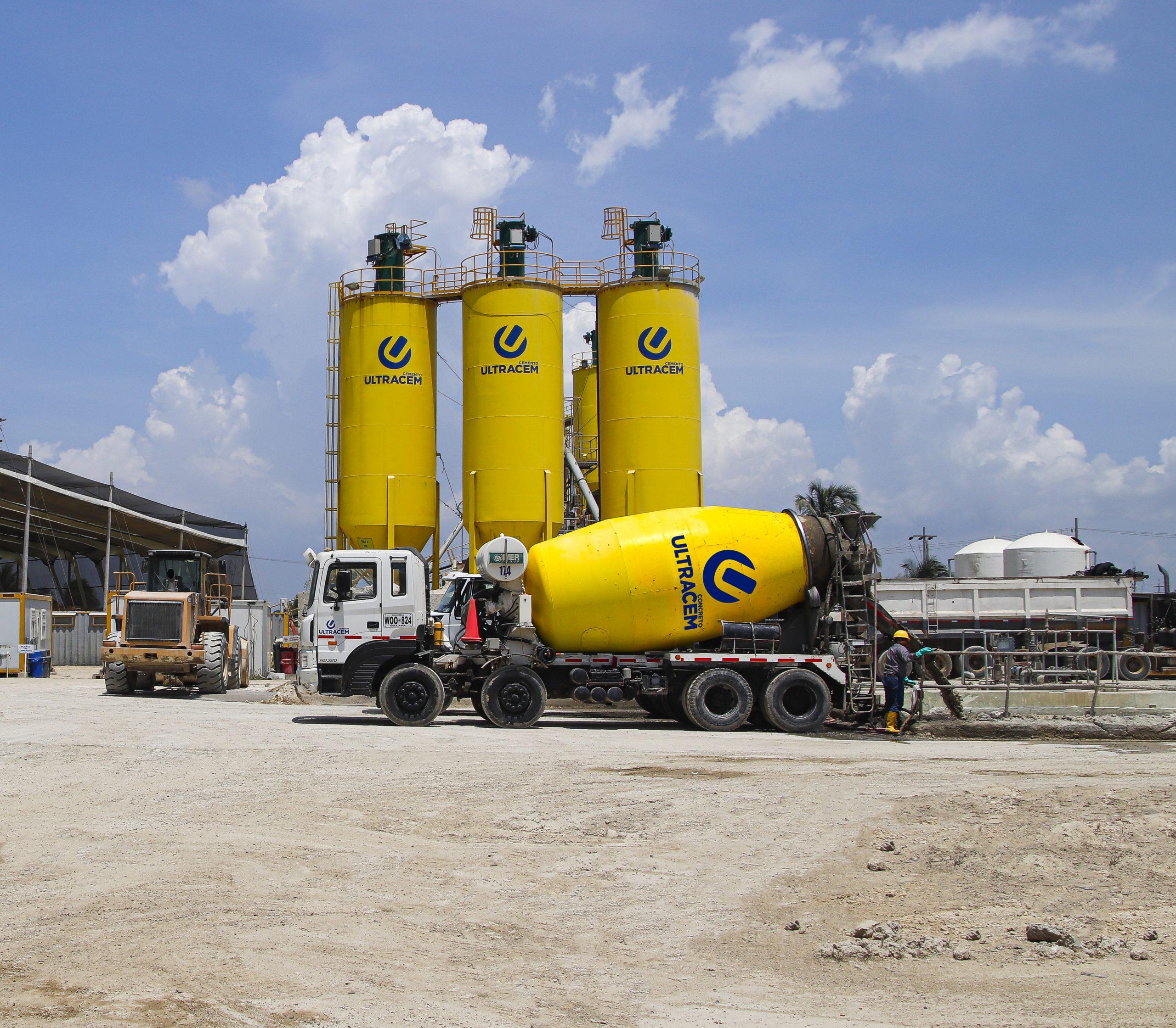 Cemento y concreto van en aumento en Colombia